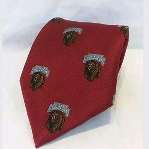 University of Montana Grizzlies neck tie